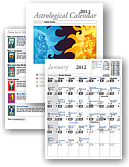 New Astrological Calendar for 2015