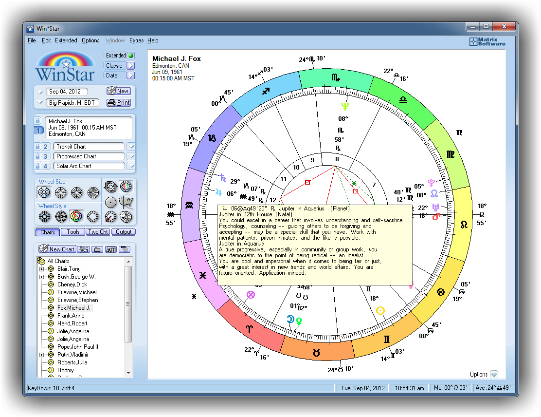 vision astrology software