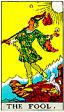 The Fool Rider Waite Tarot Deck
