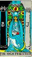 High Priestess Rider Waite Tarot Deck