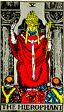 Hierophant Rider Waite Tarot Deck