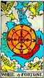 Wheel of Fortune Rider Waite Tarot Deck