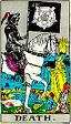 Death Rider Waite Tarot Deck
