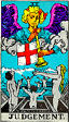Judgement Rider Waite Tarot Deck